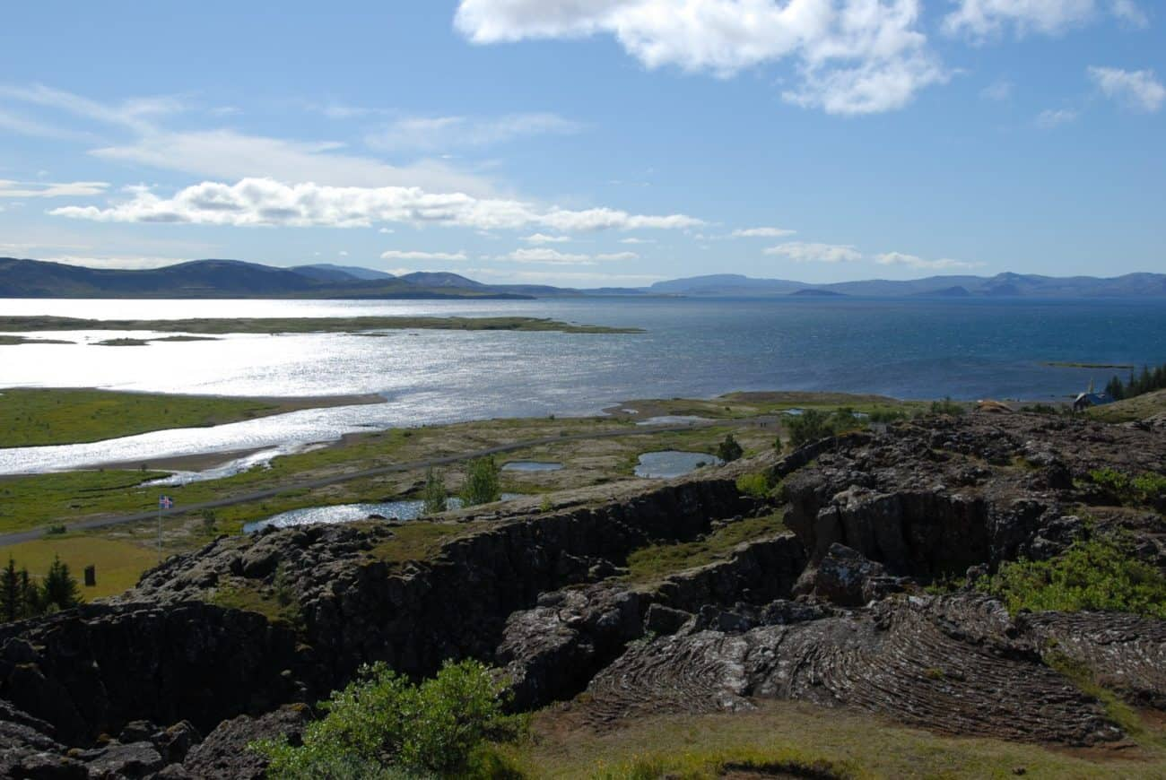 thingvellir, lake thingvallavatn
