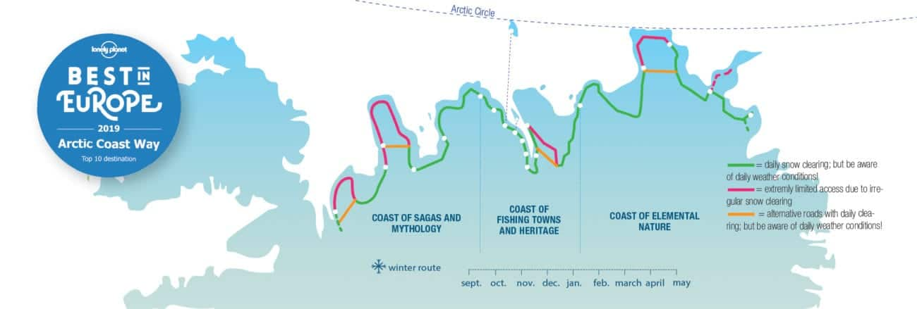 , All About the Scenic Arctic Coast Way Route